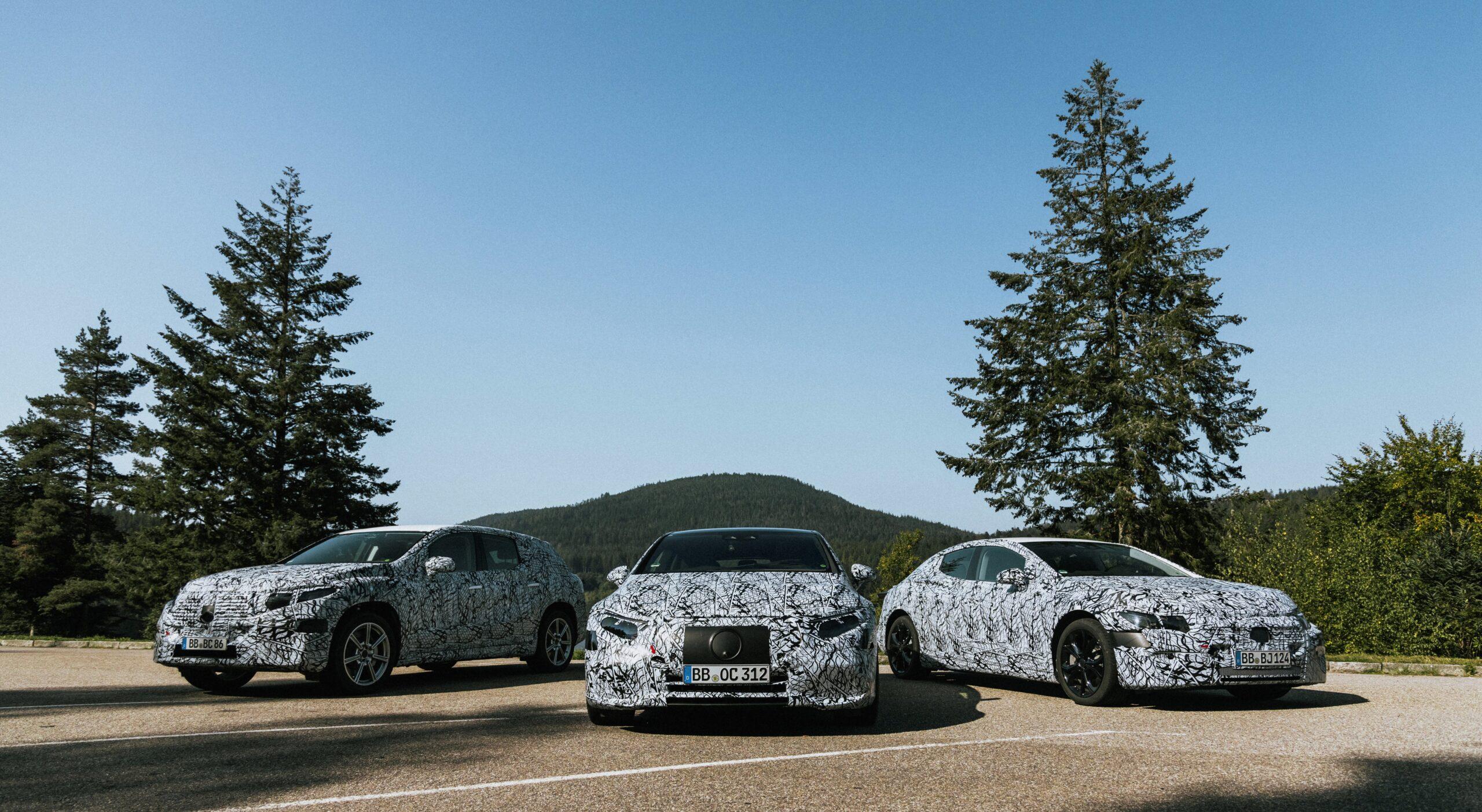 Mercedes sætter strøm på seks nye modeller
