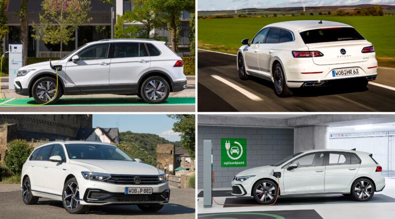 Her er overblikket over VW's hybridbiler