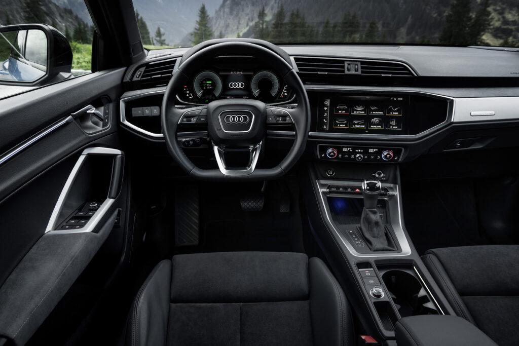 Audi Q3 45 TFSI kabine