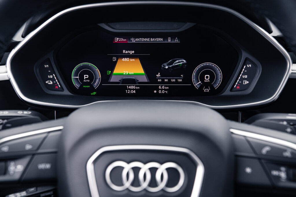 Audi Q3 plug in display