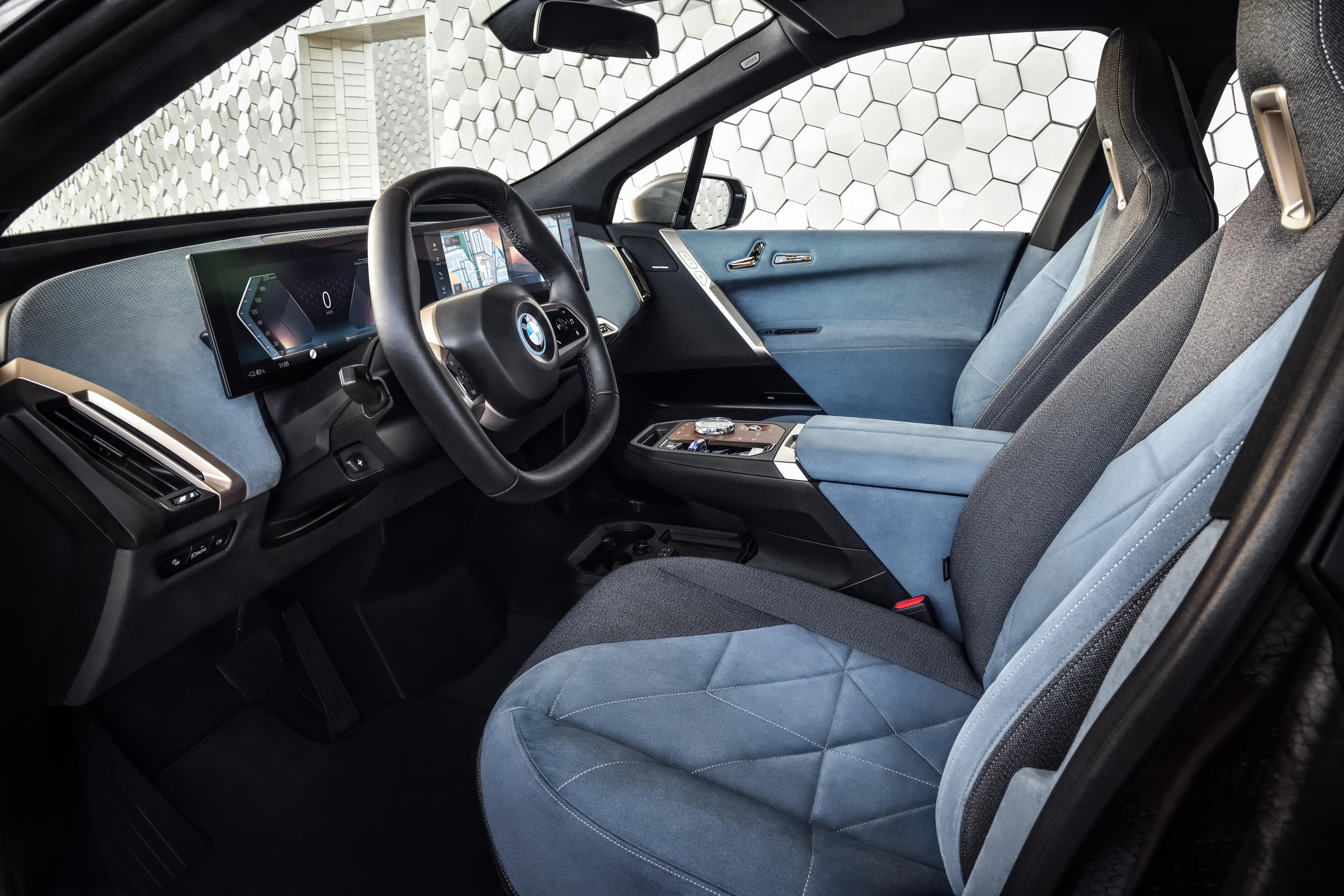 BMW iX kabine
