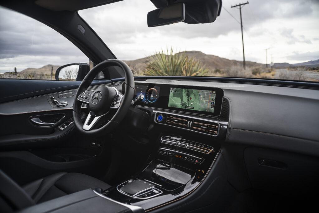 Mercedes EQC førersæde