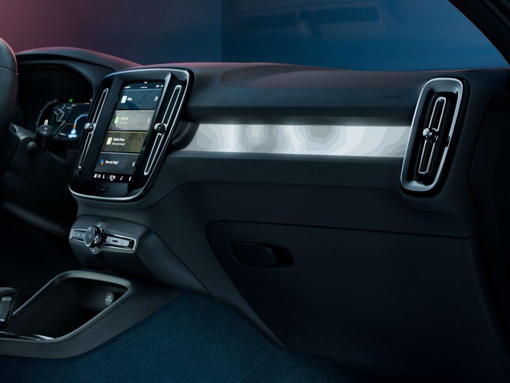 Volvo C40 Recharge kabine