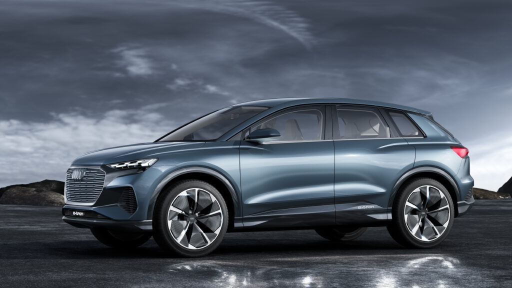 Ny Audi Q4 e-tron koncept