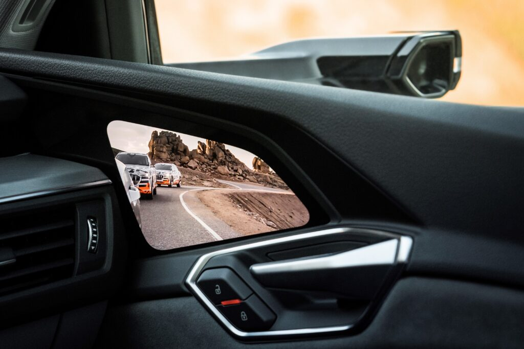 Audi e-tron spejl kamera