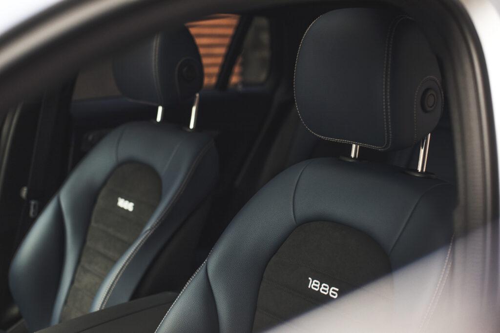 Mercedes EQC sæder
