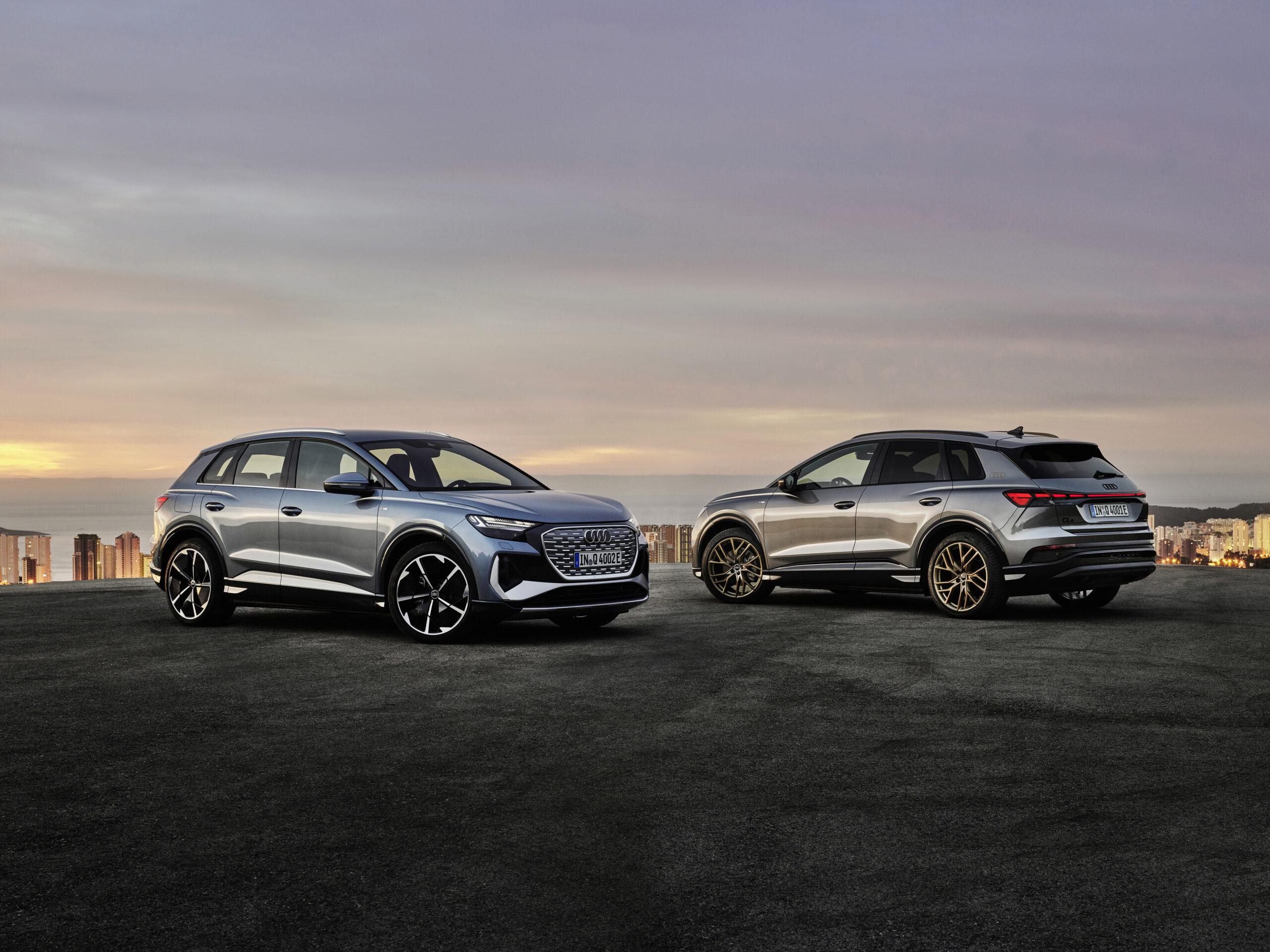 Audi Q4 e-tron og Q4 Sportsback e-tron