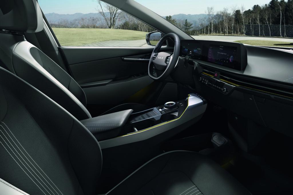 EV6 Kia interiør